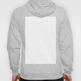 Just Plain White Hoody