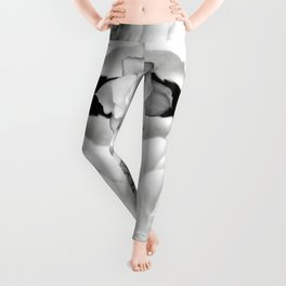 Gardenia Black and White Leggings