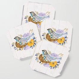 NestingPaintedBird Coaster