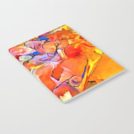 Fire Opal Impressions Notebook