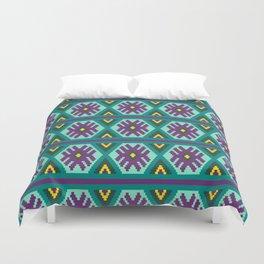 Huichol art Duvet Cover
