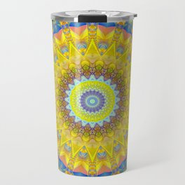 Mandala sun 2 Travel Mug