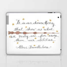 Choices Quote Laptop & iPad Skin