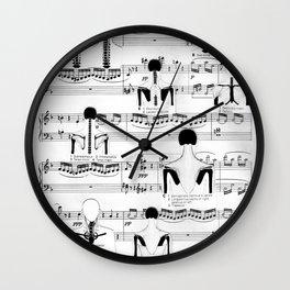 Spinal Chords from Wililam Tell Wall Clock