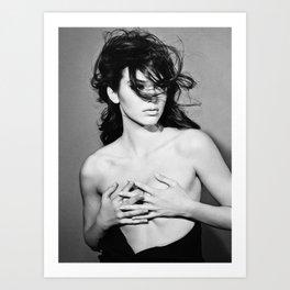 Kendall Jenner - 2014  Art Print