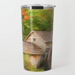 Mabry Mill Autumn Travel Mug