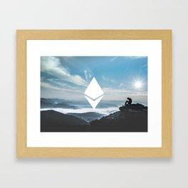 Ethereum Print Framed Art Print