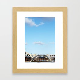 Geometric St Paul Framed Art Print