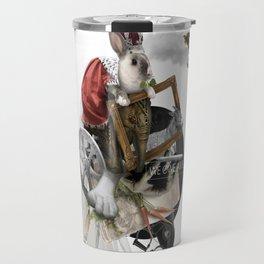 WE OWE AWE (Totem of the Rabbit) Travel Mug