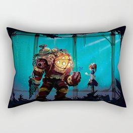 Silent Guradian Rectangular Pillow