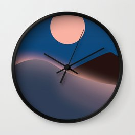 Saudi Arabia Travel poster, Wall Clock
