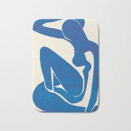 Blue Nude Bath Mat