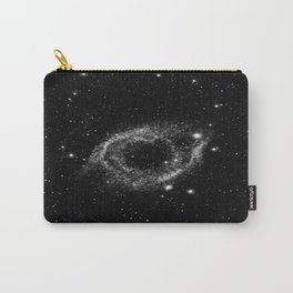 Helix Nebula Black and White Carry-All Pouch