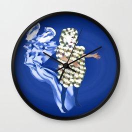 Blue Ramataupia Wall Clock