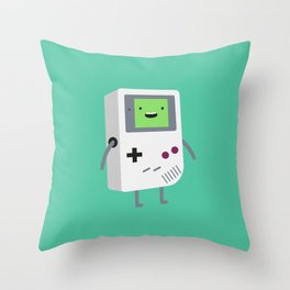 Who wants to play video games?  Throw Pillow