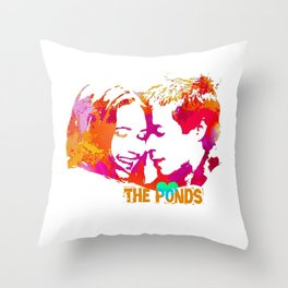 The Ponds Throw Pillow