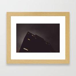 Foggy Night IV Framed Art Print