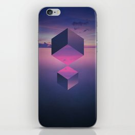 Cuboid iPhone Skin