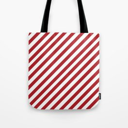 Candy Cane - Christmas Illustration Tote Bag