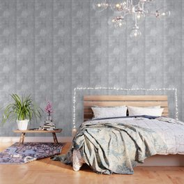 Abstract silver paper Wallpaper