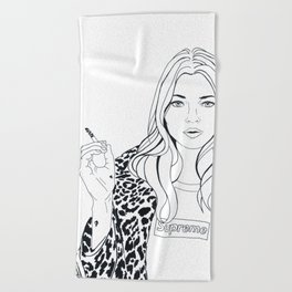 Kate M. X Supreme Beach Towel