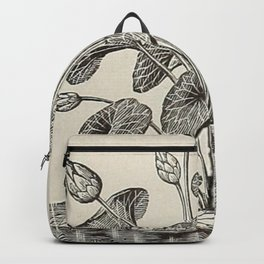 Water Lillies Backpack