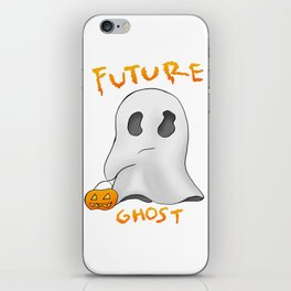 We are all future ghosts iPhone Skin
