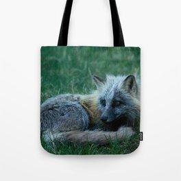 Fox Photography Print Tote Bag
