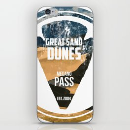 Great Sand Dunes iPhone Skin