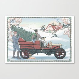 Seasons Greetings (from Steve and Bucky) Canvas Print
