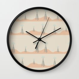 radio tower Wall Clock