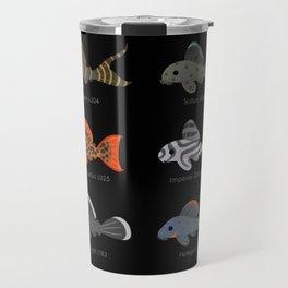 Pleco! - white Travel Mug