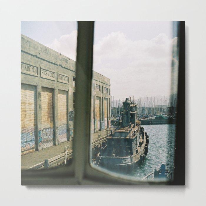 (the abandoned wharf) Metal Print
