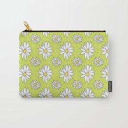 Fresh As A Daisy (Lime) Carry-All Pouch