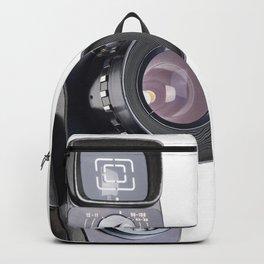 Retro hobbies movie camera Backpack
