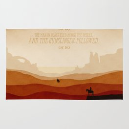 And The Gunslinger Followed - Dark Tower : The Gunslinger Rug