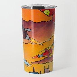 Robot - Air Traffic Travel Mug