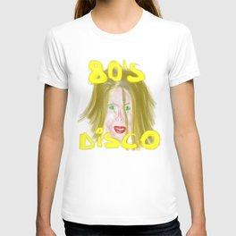 disco 80s T-shirt