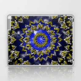 The Origin Gold and Silver With Plasma Laptop & iPad Skin