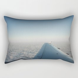 Wing in the clouds Rectangular Pillow
