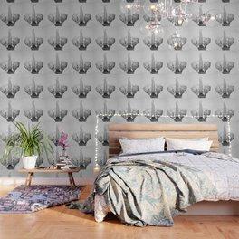 Elephant 2 - Black & White Wallpaper