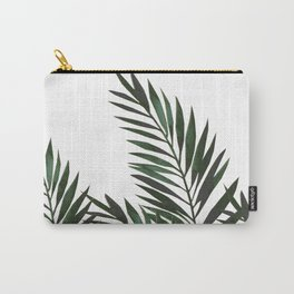 Palm Leaves Green Carry-All Pouch