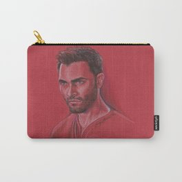 Derek in Red Carry-All Pouch