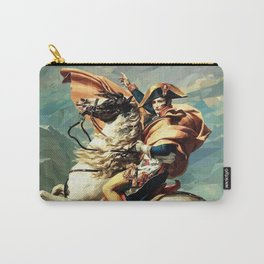France's Napoleon Crossing the Alps Carry-All Pouch