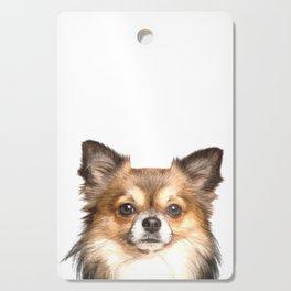 Chihuahua Portrait Cutting Board