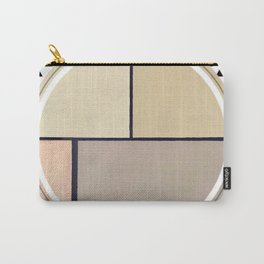 Toned Down - small triangle graphic Carry-All Pouch