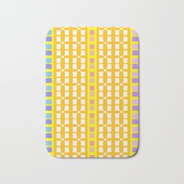 Lemon Mosaic Bath Mat