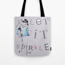 Let It Sparkle Tote Bag