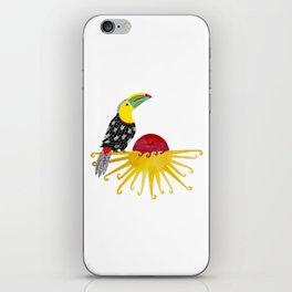 Toucan in the sun iPhone Skin