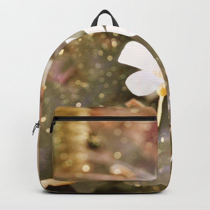 Pastel vibes floral III Backpack